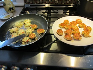 cuisson crabe cakes